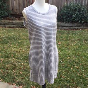32 Degrees cool jersey sleeveless tank top dress